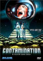 La locandina del film Contamination - Alien arriva sulla terra
