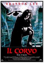 La locandina del film Il Corvo - The Crow