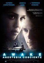 La locandina del film Awake - Anestesia Cosciente