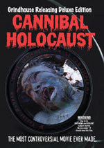 La locandina del film Cannibal Holocaust