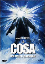 La locandina del film La Cosa