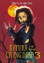 La locandina del film Il Ritorno dei Morti Viventi 3