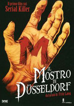 La locandina del film M, il mostro di Düsseldorf