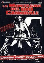 La locandina del film La montagna del dio cannibale