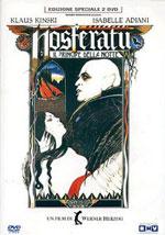 La locandina del film Nosferatu, principe della notte