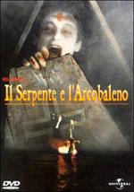 La locandina del film Il Serpente e l'Arcobaleno