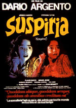 La locandina del film Suspiria