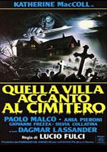 La locandina del film Quella villa accanto al cimitero