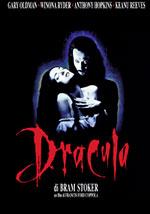 La locandina del film Dracula di Bram Stoker