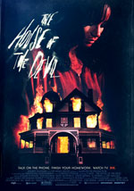 La locandina del film The House of the Devil
