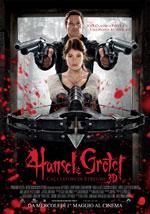 La locandina del film Hansel e Gretel cacciatori di Streghe