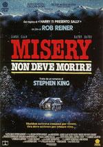 La locandina del film Misery non deve morire