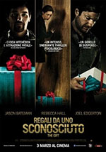 La locandina del film horror 2016 Regali da un Sconosciuto: The Gift