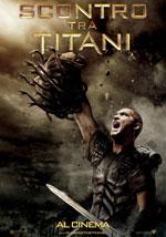 La locandina del film Scontro di Titani