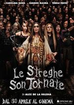 La locandina del film Le Streghe son tornate