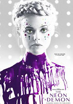 La locandina del film horror 2016 The Neon Demon