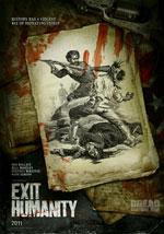 La locandina del film Exit Humanity