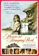 La locandina del film Picnic a Hanging Rock