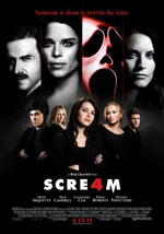 La locandina del film Scream 4