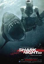 La locandina del film Shark Night - Il Lago del Terrore