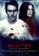 La locandina del film Shelter: Identità Paranormali