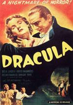 La locandina del film Dracula