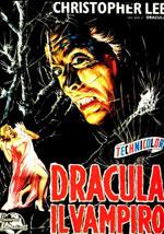La locandina del film Dracula il vampiro