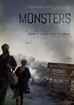 La locandina del film Monsters