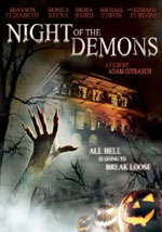La locandina del film Night of the Demons