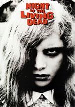 La locandina del film La Notte dei Morti Viventi