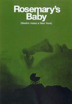 Il poster di Rosemary's Baby - Nastro Rosso a New York