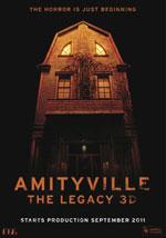 La locandina del film Amityville: The Legacy 3D