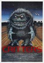 La locandina del film Critters - Gli Extraroditori