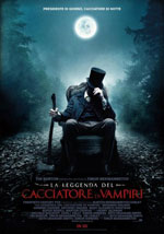 La locandina del film La Leggenda del Cacciatore di Vampiri