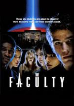 La locandina del film The Faculty