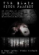 La locandina del film Il Mistero della Strega di Blair - The Blair Witch Project