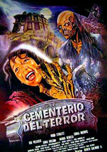 La locandina del film Cemetery of Terror