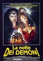 La locandina del film La Notte dei Demoni