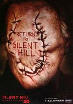 La locandina del film Silent Hill: Revelation 3D
