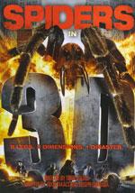 La locandina del film Spiders 3D
