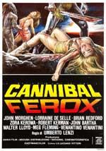 La locandina del film Cannibal Ferox