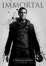 La locandina del film I, Frankenstein