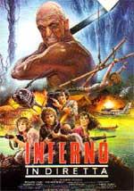 La locandina del film Inferno in diretta