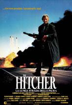 La locandina del film The Hitcher: La Lunga Strada della Paura