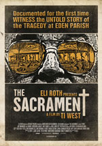 La locandina del film The Sacrament