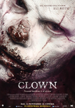 La locandina del film Clown