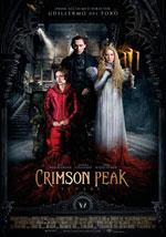 La locandina del film Crimson Peak