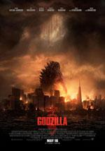 La locandina del film Godzilla