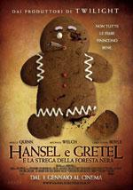 La locandina del film Hansel e Gretel e la Strega della Foresta Nera