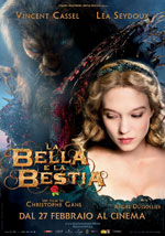 La locandina del film La Bella e la Bestia